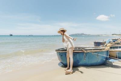 biển trời mênh mông nơi đây thật thư giãn