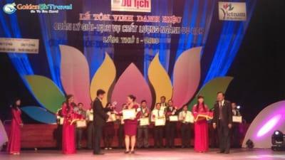 Giải thưởng Sản Phẩm / Dịch vụ chất lượng Ngành Du Lịch