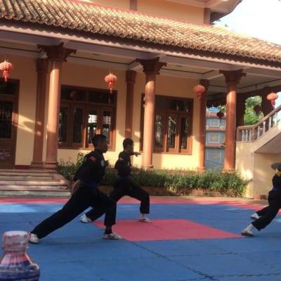Chùa Long Phước - Ngôi Chùa Võ Thuật