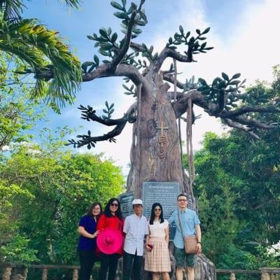 Cây Di Sản tại Mặn, nơi ba vị thừa sai Dòng Tên đã đến và đặt nền móng cho Chữ Quốc Ngữ Việt Nam