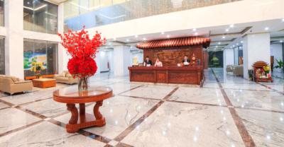 Lobby khách sạn Hương Việt Quy Nhơn