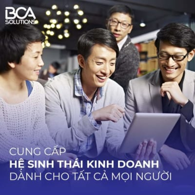 BCA Hệ sinh thái kinh doanh online cho mọi người