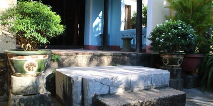 Hòn Đá Chém ở Chùa Thập Tháp Bình Định