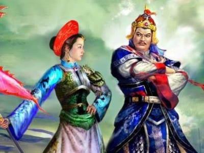 Vua Quang Trung và công chúa Ngọc Hân